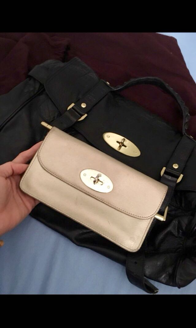 Mulberry Alexa (oversized) bag and wallet a736869e88517