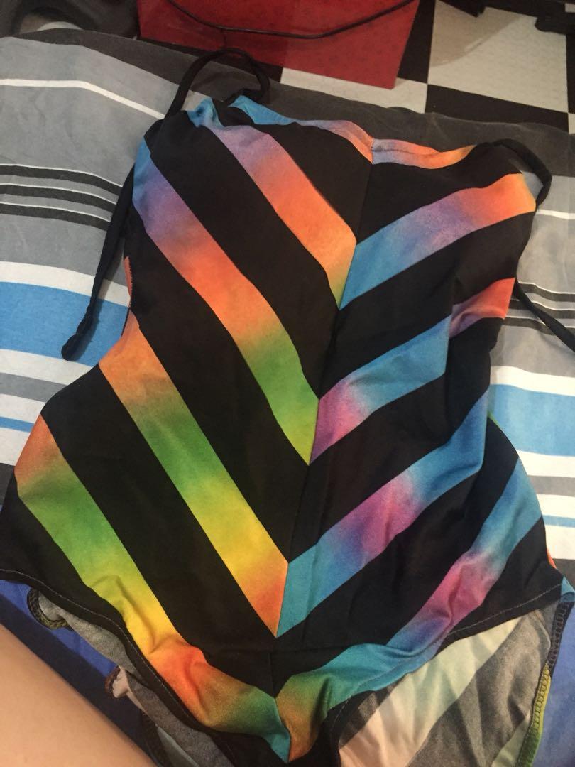 Multi color swimsuit