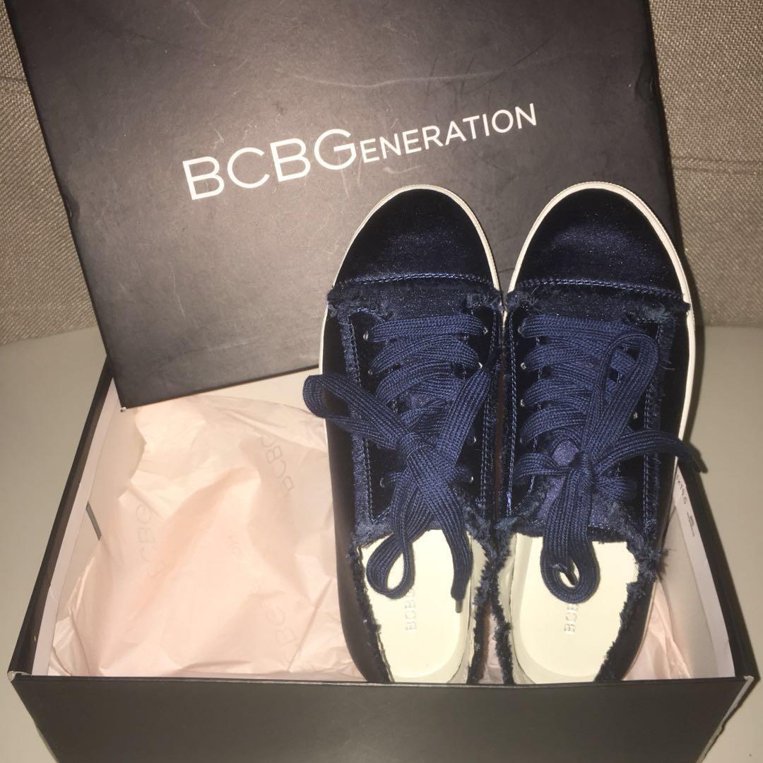 Navy BCBG Shoes