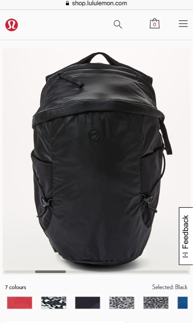 New without tags LULULEMON RUN ALL DAY BACKPACK