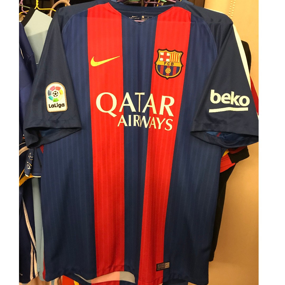2d525deb5 Nike 2016 - 2017 FC Barcelona Home Football Kit