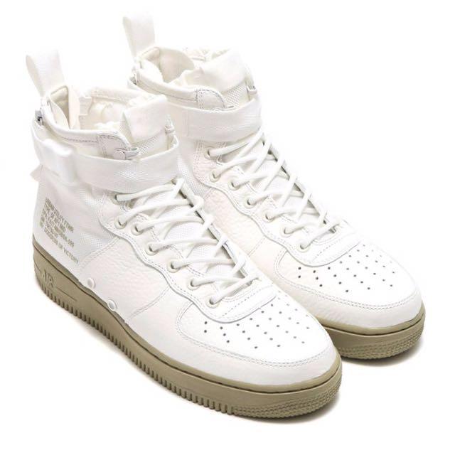 Nike SF Air Force 1 Special Field 中筒 AF-1 皮革 籃球鞋 板鞋