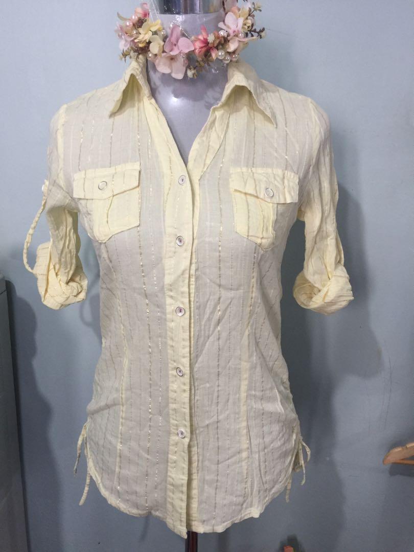 Office blouse s-m