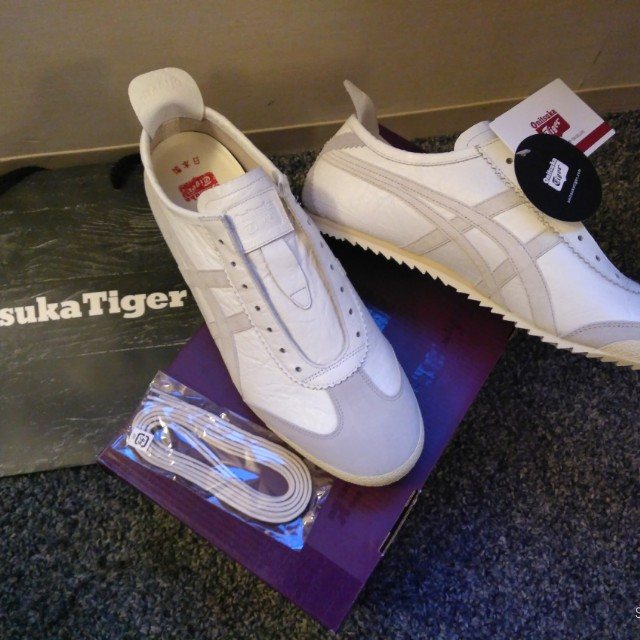 buy popular facf2 18bf2 Onitsuka Tiger - Nippon made (Mexico Slip-on Deluxe White ...