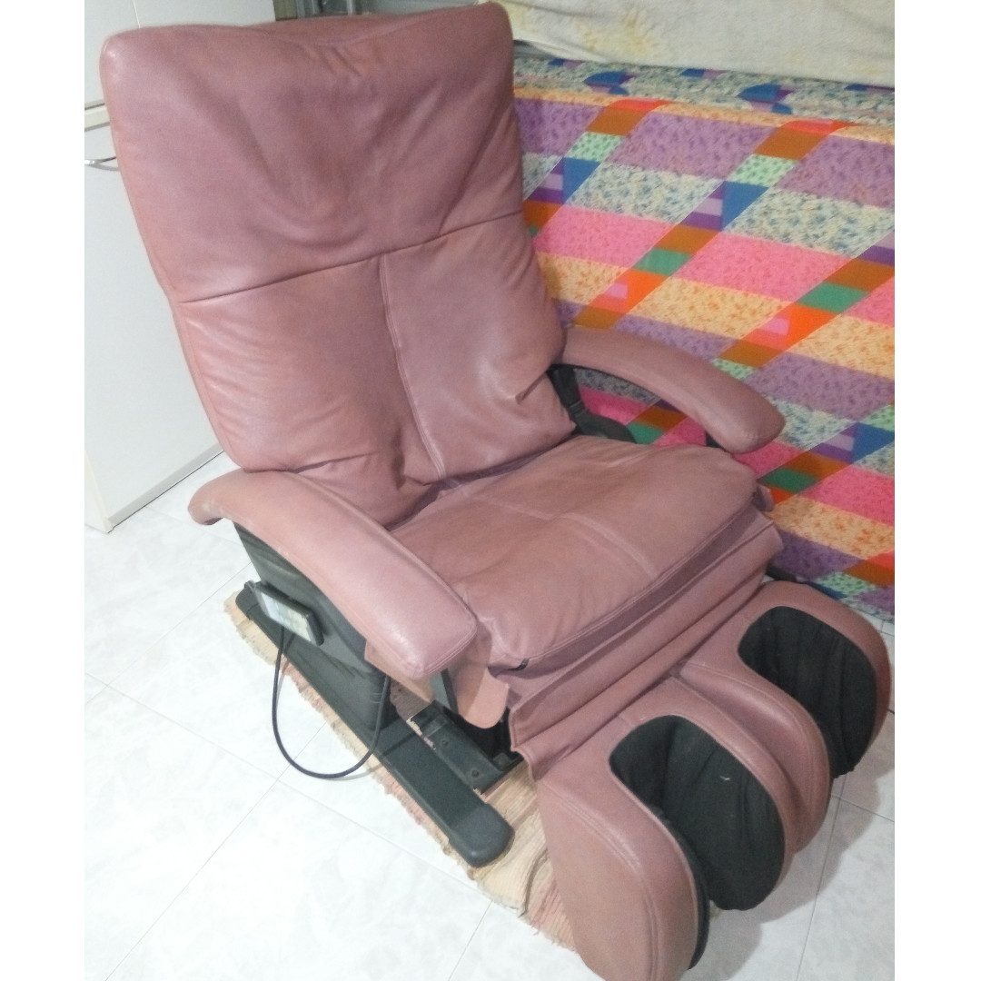 lifestyle home sofa udiva in with functions news launches of massage lounger and triple smart osim living chair red