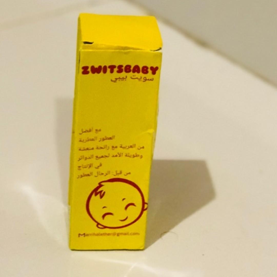 ***PROMO*** ZWITSBABY Parfum Import EDP 30ml dari DUBAI UAE untuk Bayi & Anak-anak Ori 100%. Lembut,tahan lama.