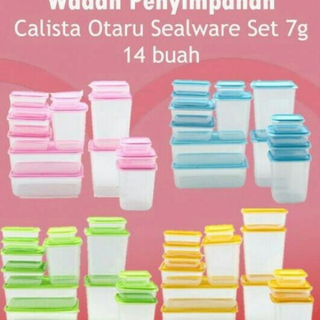 pd Calista Otaru sealware 14 pcs