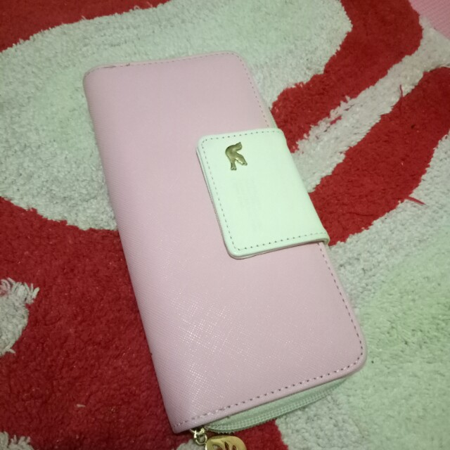 PINK SIDED WALLET