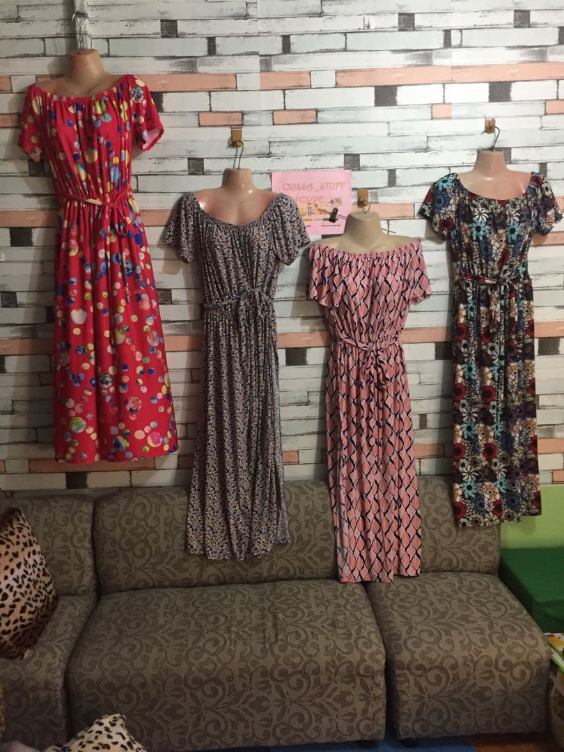 Plus size summer maxi dress