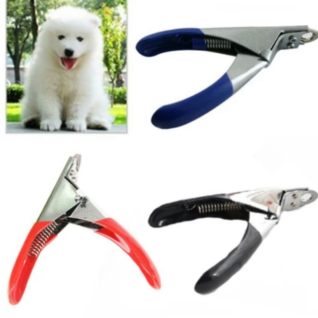 Popular Simple Pet Nail Clippers Cutter for Dogs Cats Birds Guinea Pig Animal Claws Scissor Cut