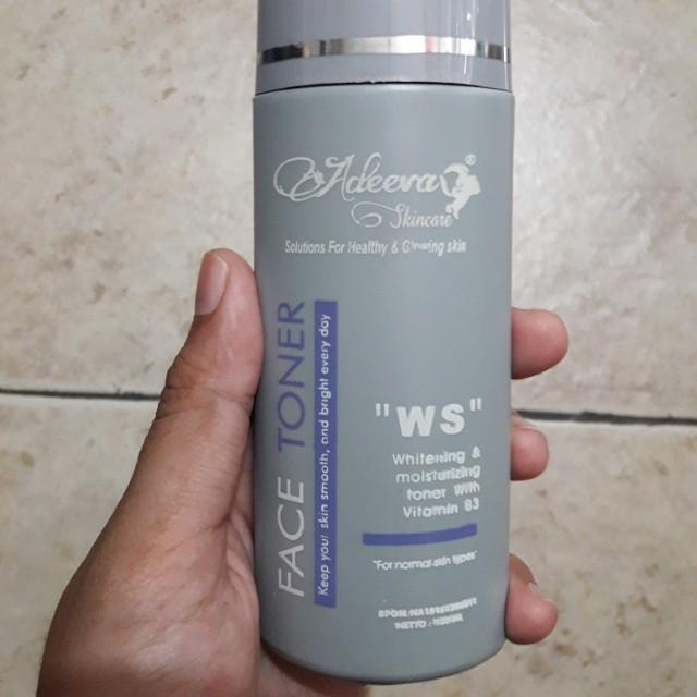 Preloved Adeeva Skincare Face Toner WS