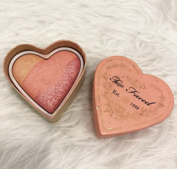 Preloved Too Faced sweetheart Perfect flush blush