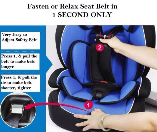 Red Carmind German Highest Class Baby To Toddler Car Seat Child Safety Babies Kids Prams Strollers On Carousell