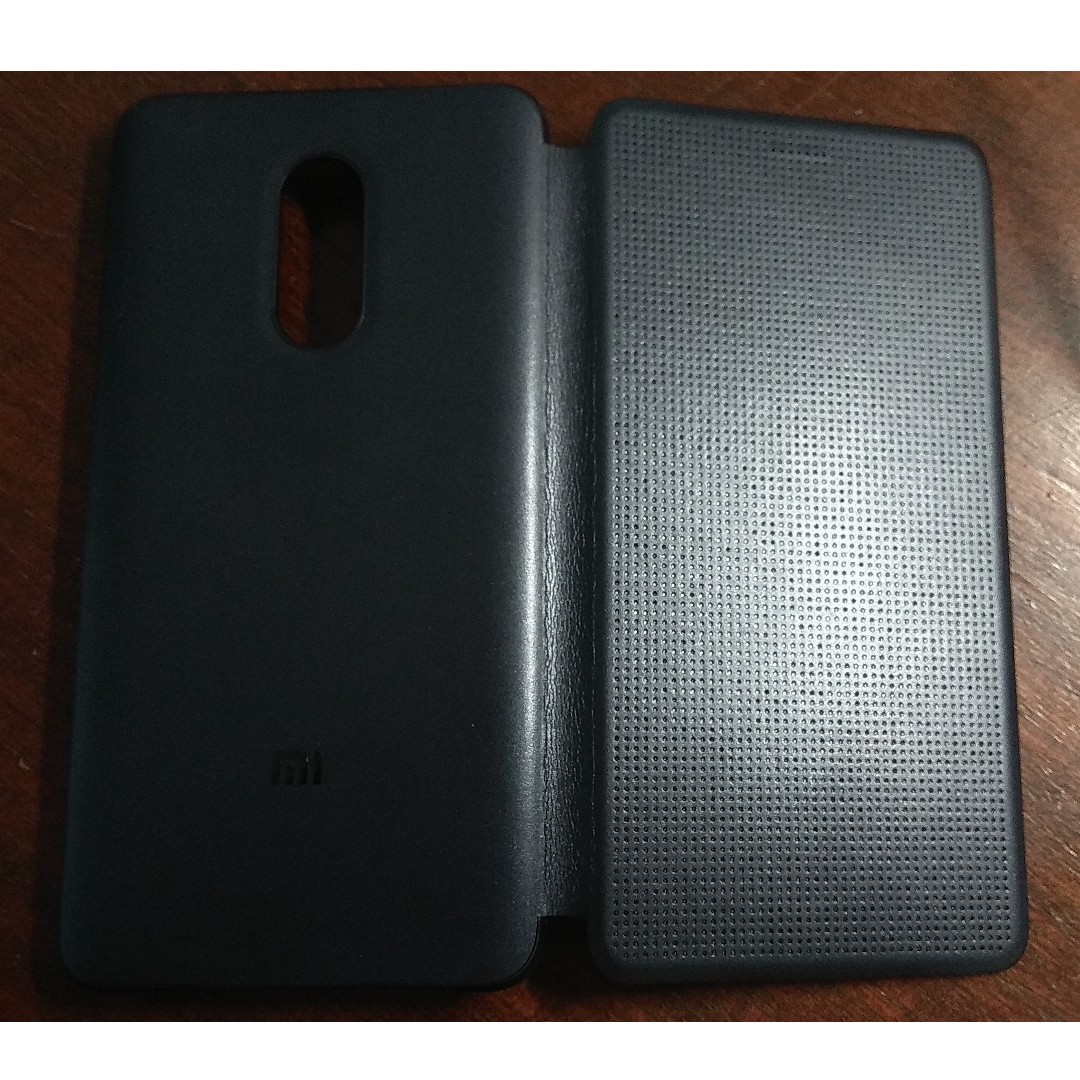 huge discount cffa0 59ee7 Redmi Note 4 Perforated Flip Case (Brand New, Authentic)