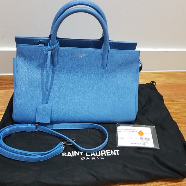 bb2ae761fc Saint Laurent - Small Cabas Rive Gauche Bag (with receipt)