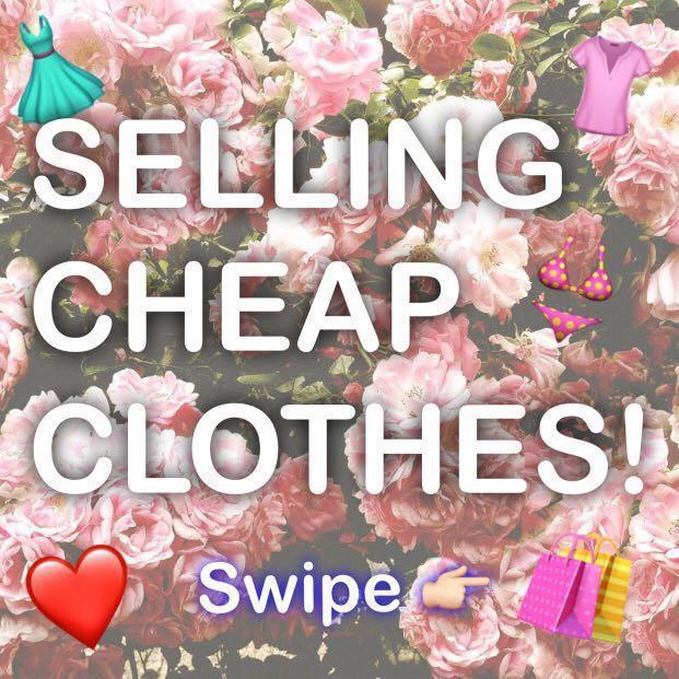 SALE! CHEAP CLOTHES