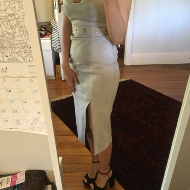 Shieke Grey Dress