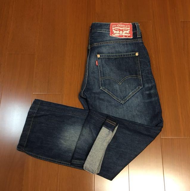 (Size 30/34) Levi's 504 紅標大赤耳牛仔褲