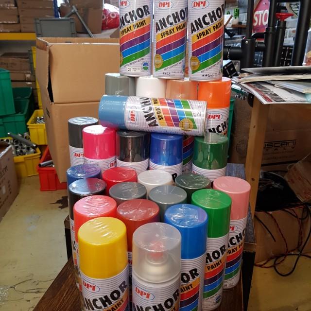 Spray paint] anchor high quality spray paint, Design & Craft