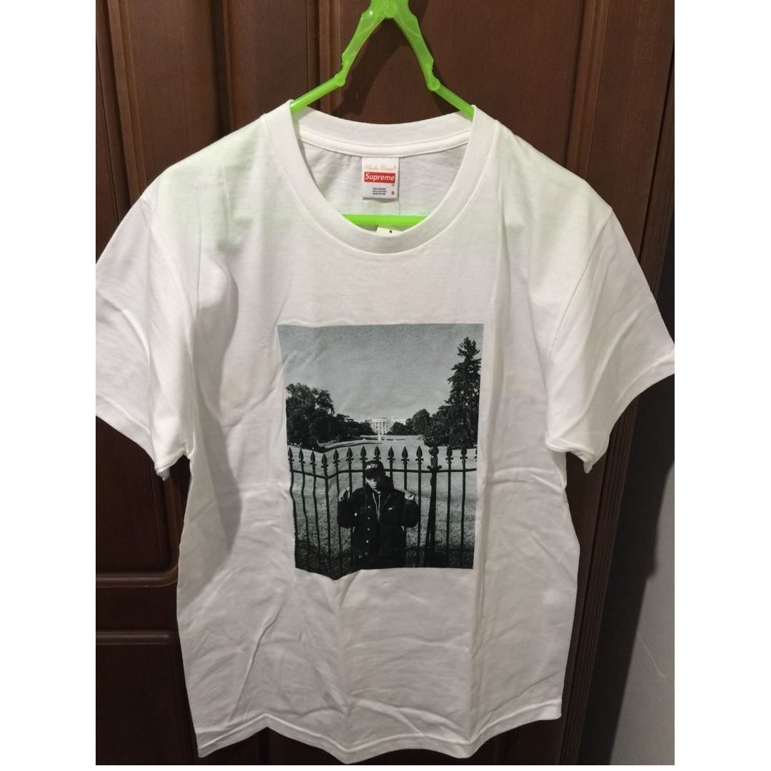 b469aafc9ee2 Supreme Undercover Public Enemy White House Tee (White) S, Men's ...