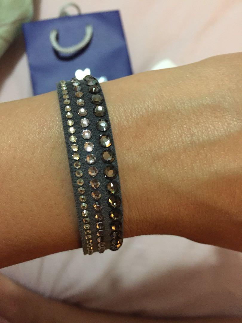 Swarovski Crystal Grey Bracelet