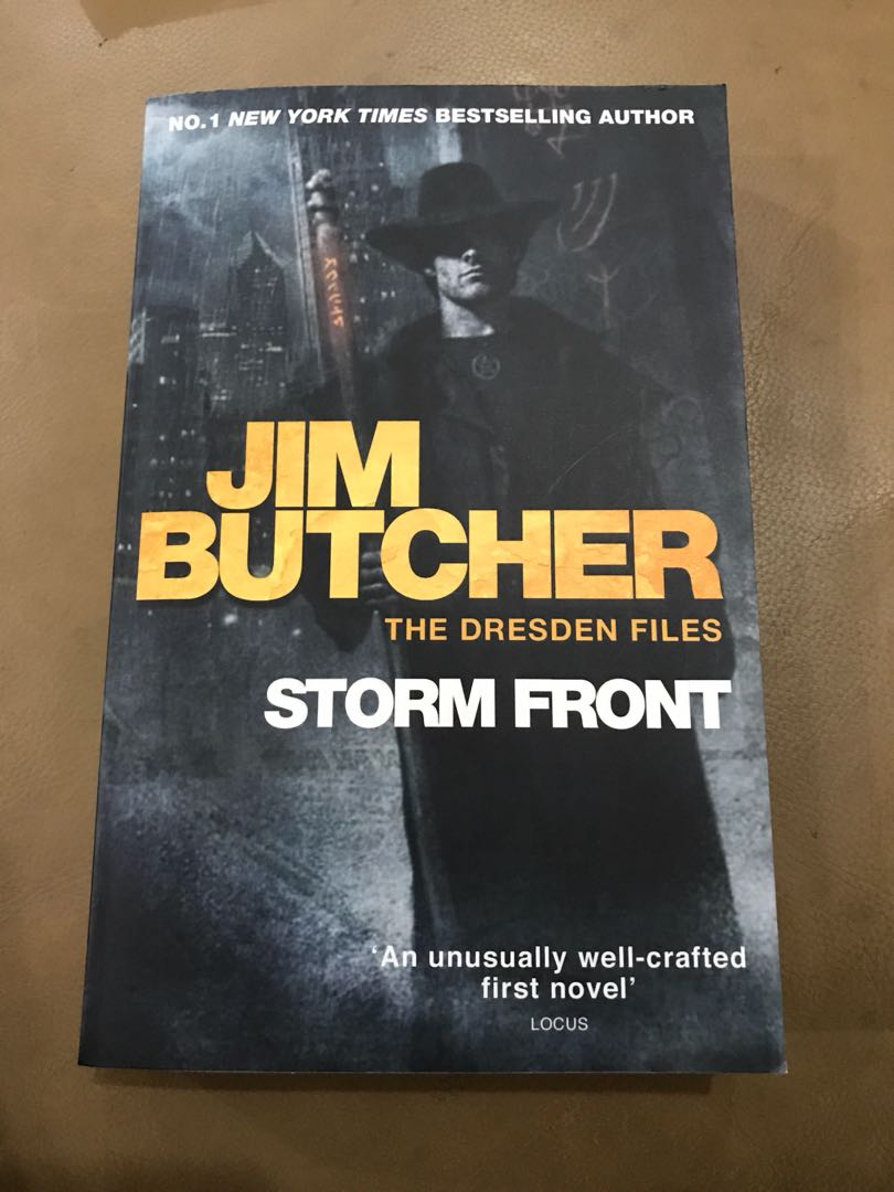 the dresden files book one storm front jim butcher books