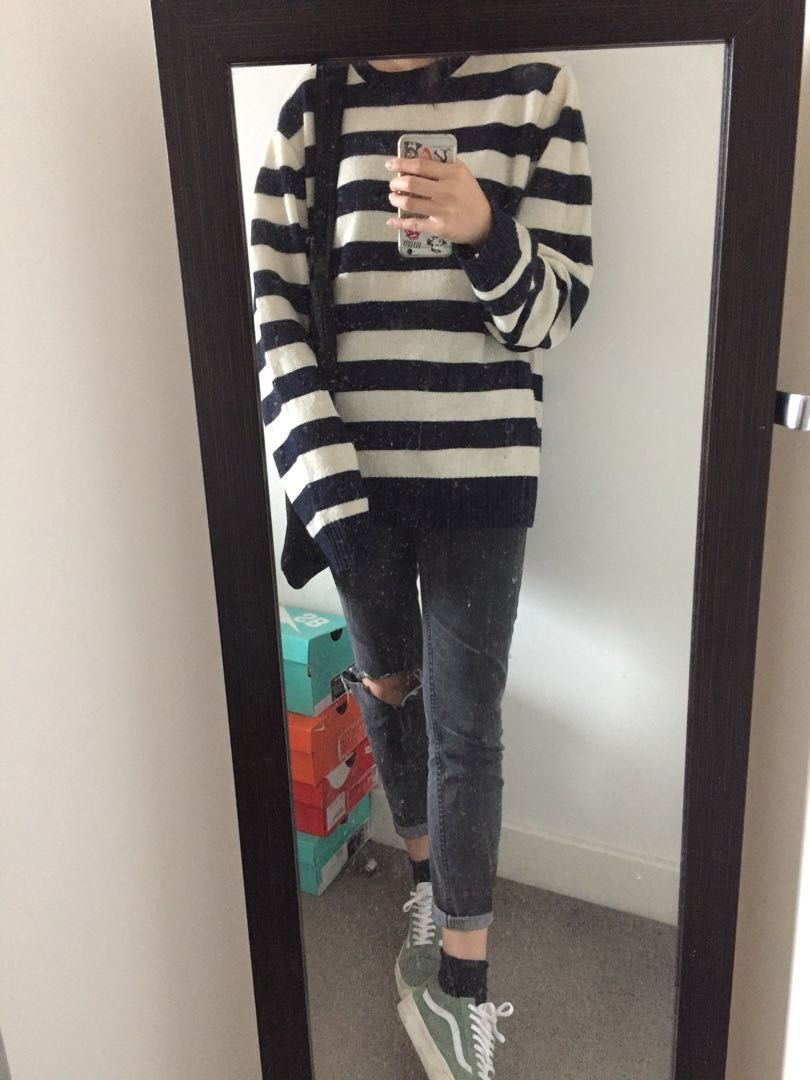 Uniqlo Striped Sweater