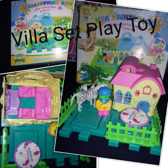 Villa Play Toy