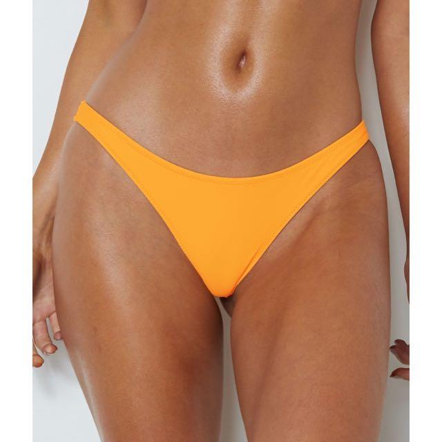 White fox boutique tangerine bikini bottoms