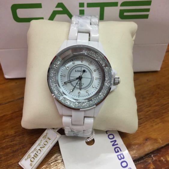 "Women's Watch Ceramic Caite "" Longbo """