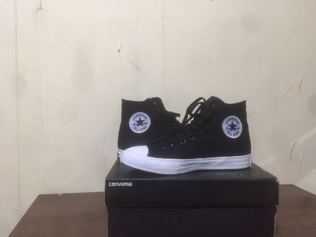 WTS converse CT II black and white high original d4148f288c