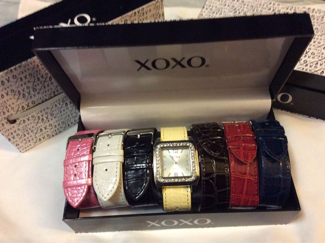XOXO square Face Watch