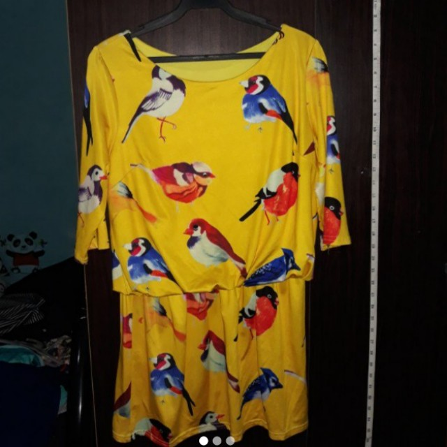 Yello Bird Dress