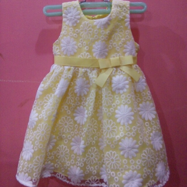 Yellow Sunday's Dress