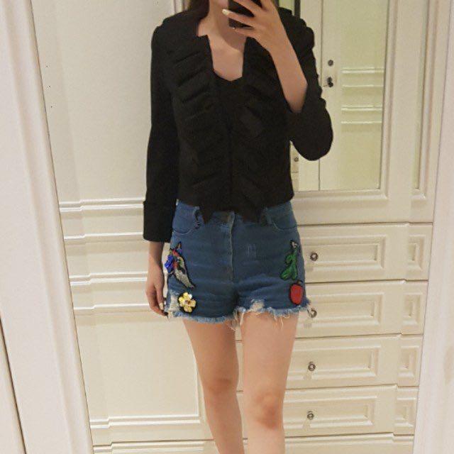 Zara basic bolero/outer