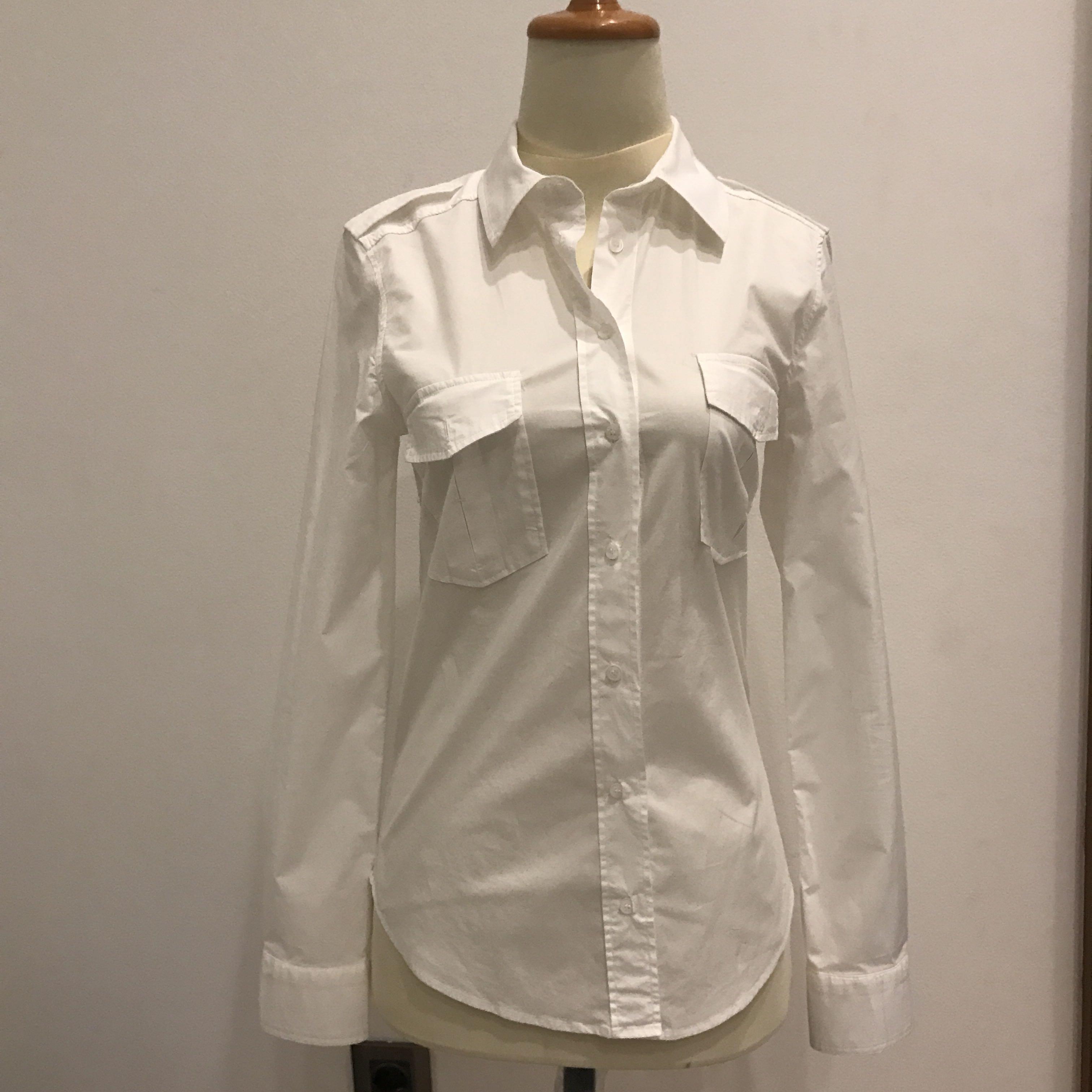 Zara Basic white shirt