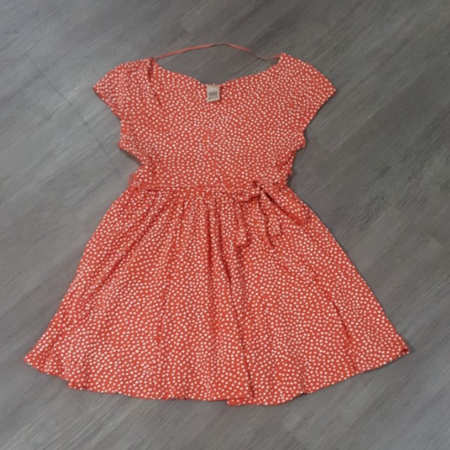 Zara dotty dress (M)
