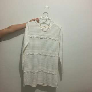 White top or dress S to M size