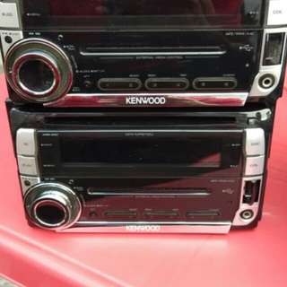 Kenwood cd player double din high end