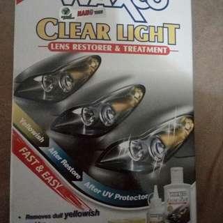Waxco clear light restorer