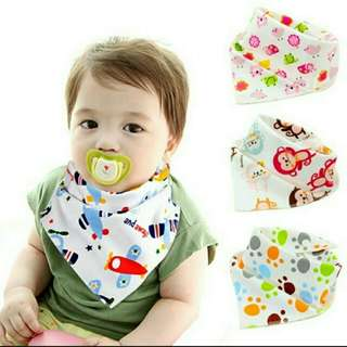 Baby Bibs Button (6 pieces)