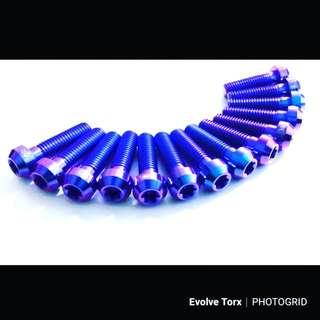 🔩M8 Titanium Torx Bolt for Handlebar clamp