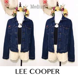Branded Lee Cooper Button Down Denim Jacket FP24