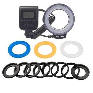 Camera Ring Light Macro Ring Flash Led Lights