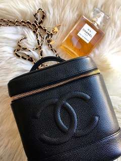 Chanel Vintage 化妝袋❤️