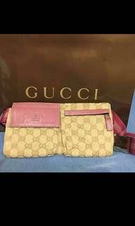 Authentic Gucci GG pattern Bum Bag Waist Bag
