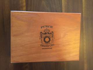 Punch Grand Cru Wood Cigar Box