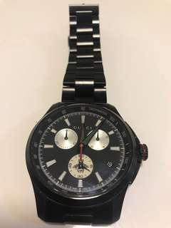 Gucci  black chronograph