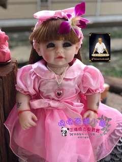 阿贊唸22吋甜美古曼麗/天使娃娃/許願娃娃
