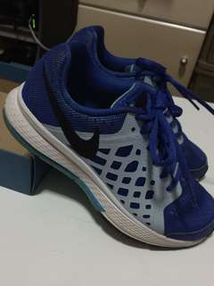 Nike Zoom Pegasus 31 Boys Shoes, Blue, Size 32